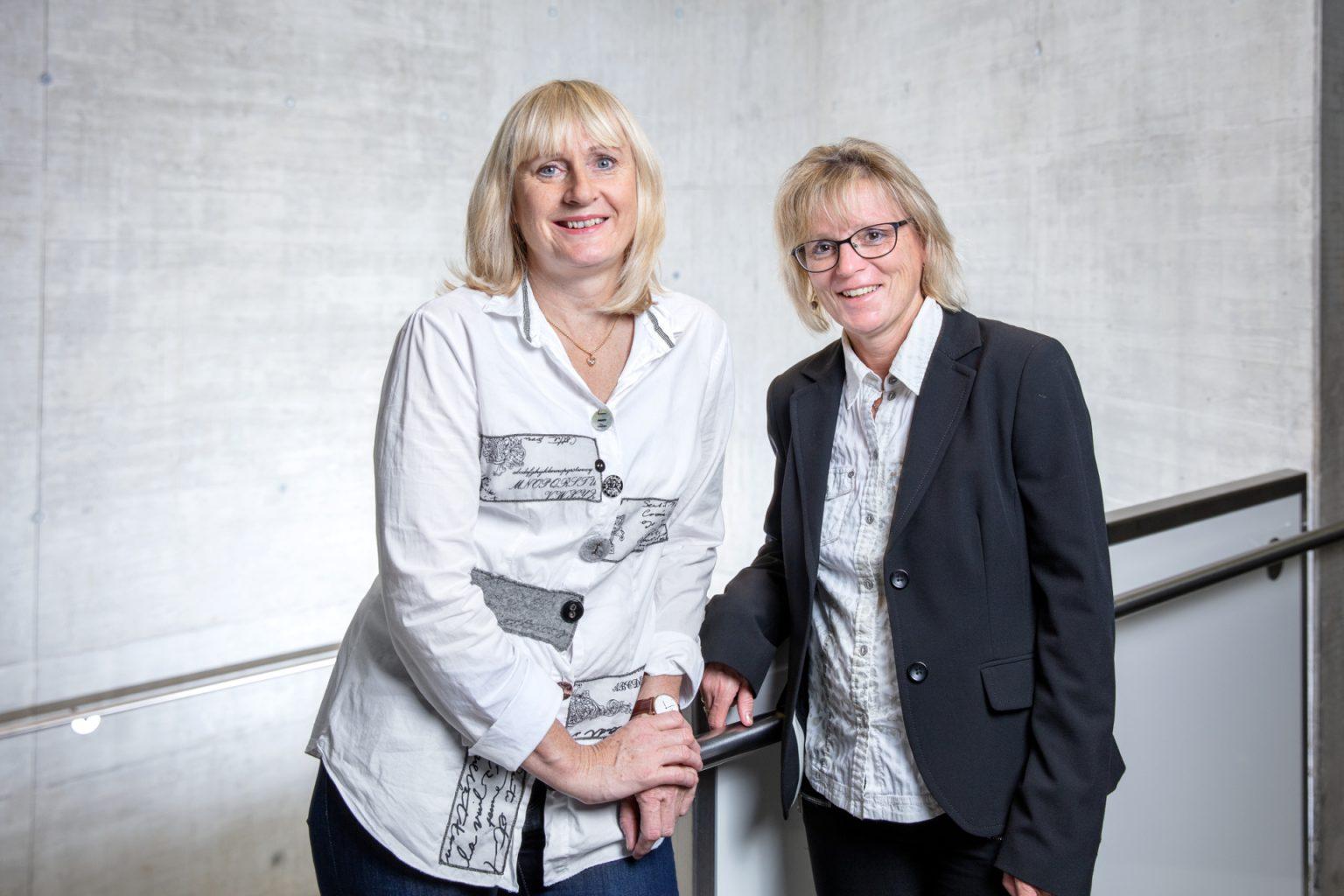 Eva Redhammer und Uta Whöry