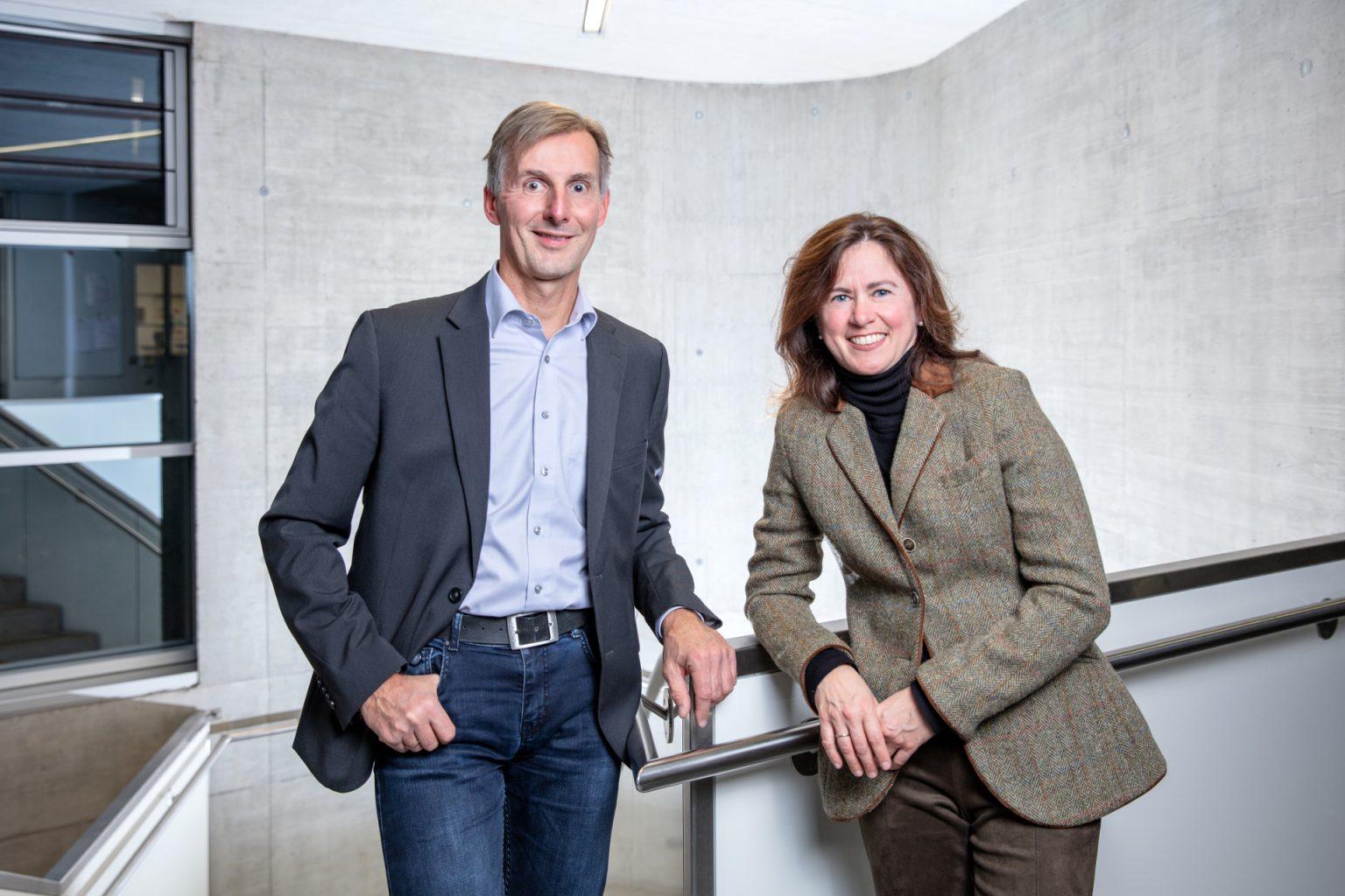 Gottfried Fallenegger und Isabella Triessnig-Loimer