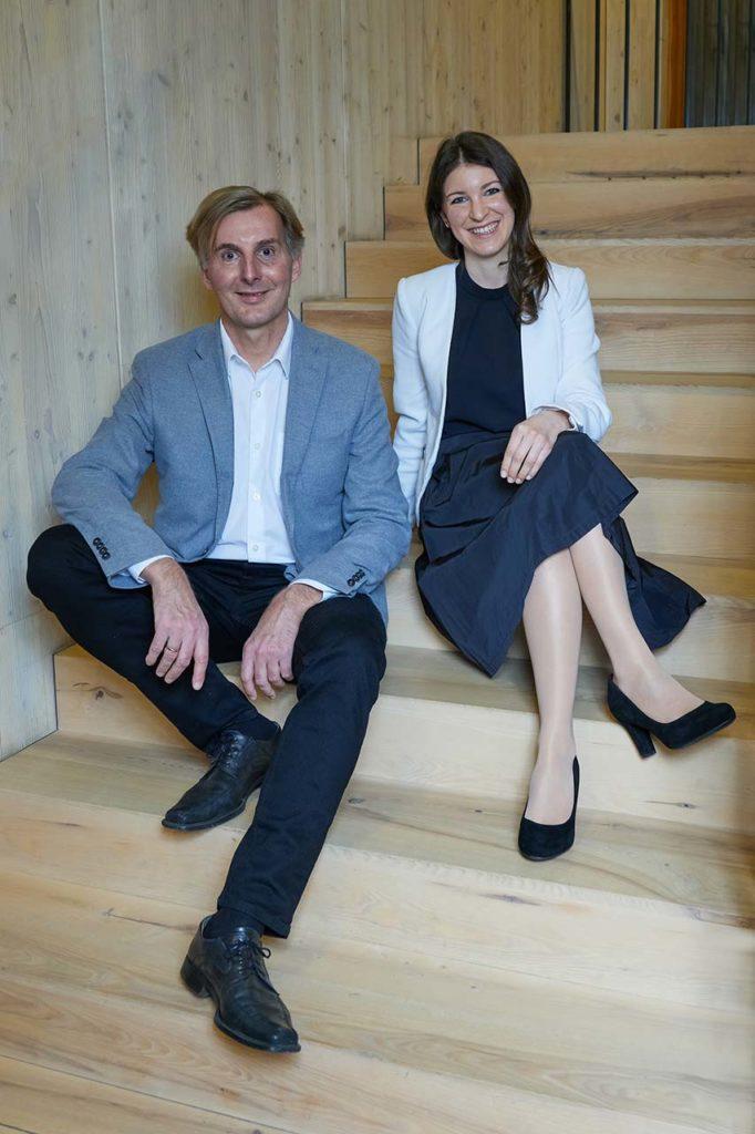 Gottfried Fallenegger und Catherine-Theres Brauneis