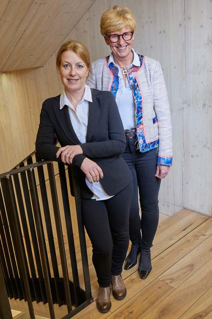 Ilona Schalwich-Mózes und Kornelia Seiwald