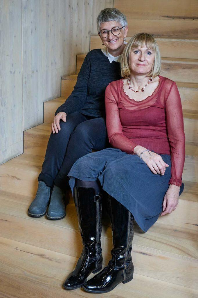 Uta Whöry und Sabine Wallmann